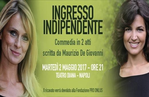 La Fondazione PRO ti invita a teatro con Tosca D'Aquino e Serena Autieri