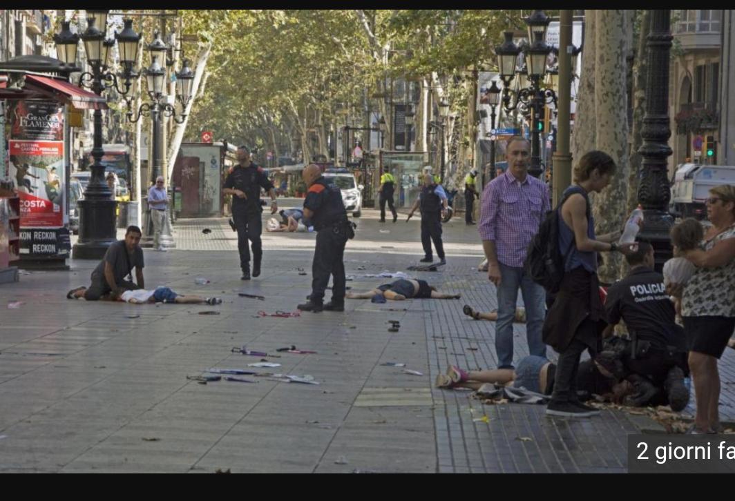 Ancora un attentato in Europa, colpita Barcellona