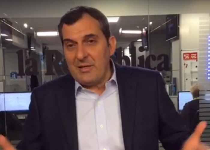 A Repubblica nun ce vonno sta'. Mario Calabresi difende il giornale dalle accuse di falso dei 5 Stelle