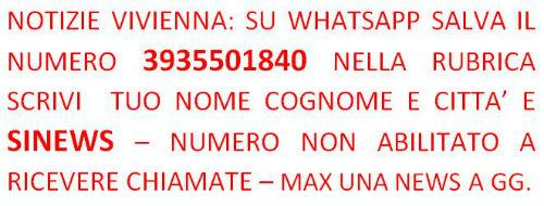 Le news di ViviEnna su WhatsApp al n.3935501840