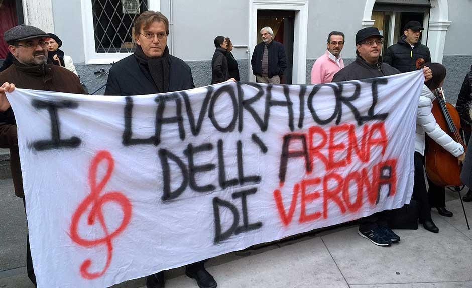 Roberto Fasoli e la crisi della Fondazione Arena: «rinegoziare con l'aiuto del Ministero»