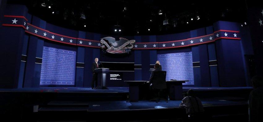Primo dibattito televisivo fra Trump e la Clinton