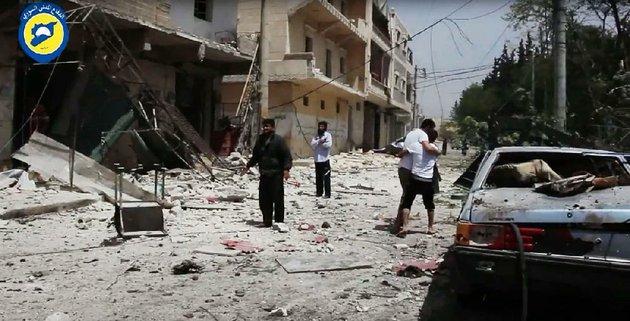 Siria: 27 morti in attacco aereo su ospedale ad Aleppo » Guerre nel Mondo
