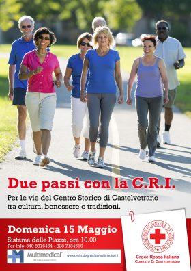 A Castelvetrano, una passeggiata salutare con la CRI