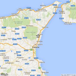Sicilia, terremoto Ml 2.2 il 03-10-2016 ore 13:27: in provincia Catania