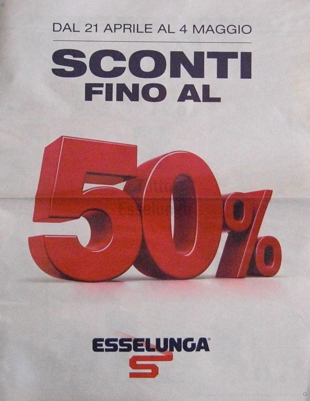 Volantino Esselunga del 21 Aprile 2016 in anteprima ASSOLUTA!