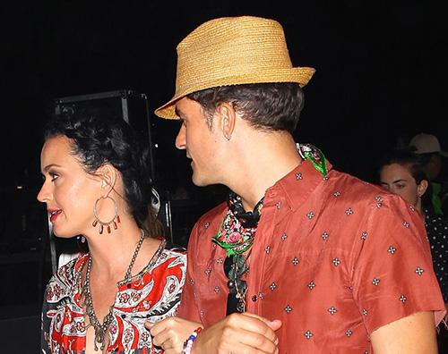 Katy Perry e Orlando Bloom in coppia al Coachella