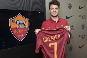 """Roma – Grenier: """"Infortuni alle spalle, sto bene da oltre un anno"""""""