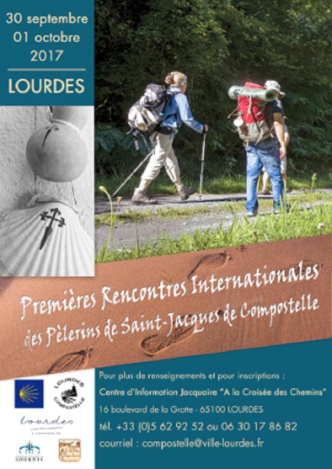 #Lourdes Rencontre pelerin de ST Jacques
