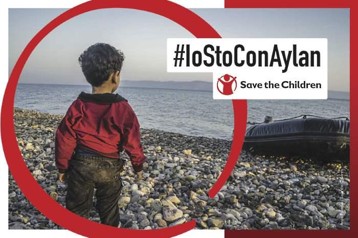 Save the Children lancia l'appello social #IoStoConAylan dalla 73.ma Mostra del Cinema di Venezia