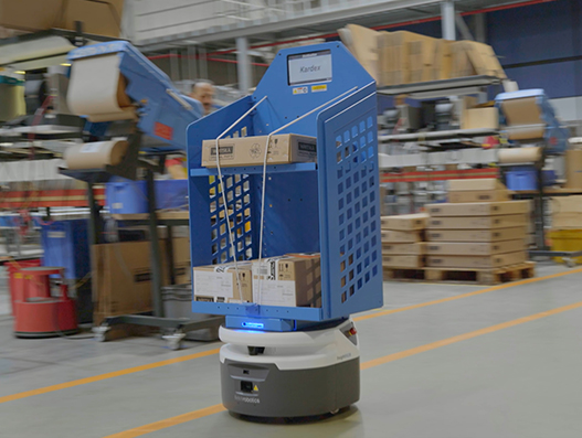Wärtsilä and DHL deploy mobile robots for warehouse operations | Supply Chain