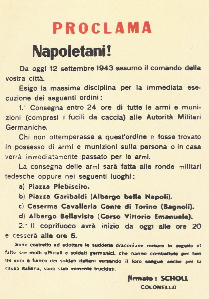 30 settembre 1943: Terminano le quattro giornate di Napoli