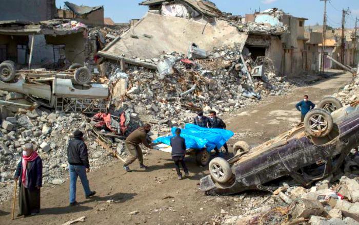 A Mosul si compie l'ennesima strage nella più totale indifferenza dell'occidente