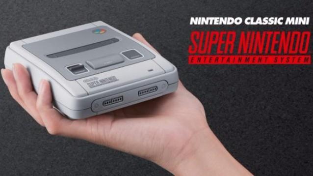 SNES Classic Mini: da Settembre, con 21 giochi e secondo controller