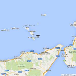 Sicilia, terremoto Ml 2.4 il 20-04-2016 ore 22:58:47 Isole Eolie