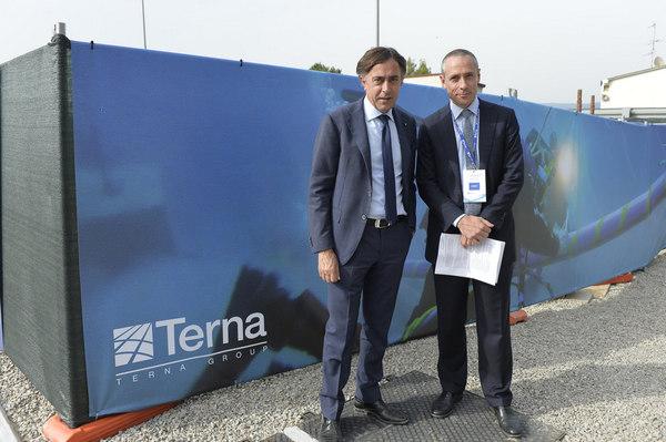 Giuseppe Lasco Terna, al via «Cantieri aperti & trasparenti»