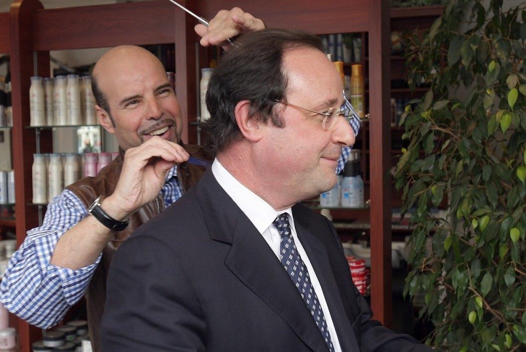 Hollande: un barbiere personale da 10 mila euro al mese a spese dello stato
