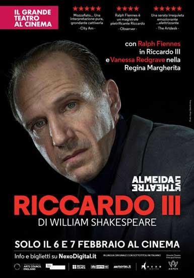 Grande teatro su grande schermo: RICCARDO III con Ralph Fiennes
