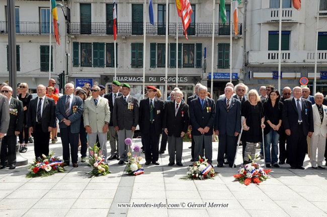 73e anniversaire libération de la ville de Lourdes
