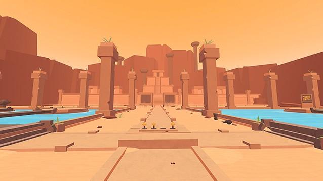 Faraway: Puzzle Escape. Risolvi gli enigmi nei templi 3D in stile Myst