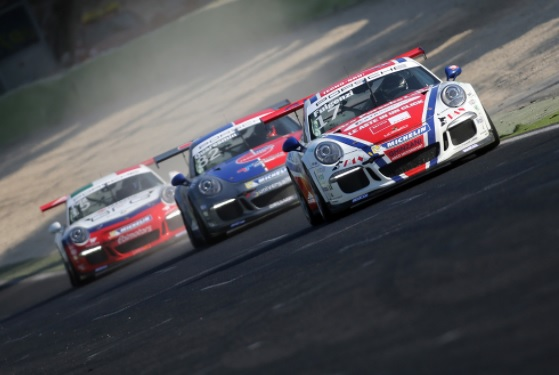 Carrera Cup Italia, a Vallelunga Rovera domina la gara n.1