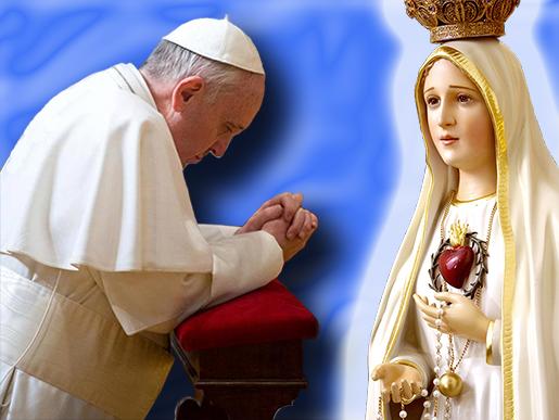 La Statua della Madonna a casa tua, Maggio 2016 con Maria