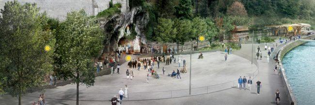 Ripartono i lavori al Santuario di Lourdes