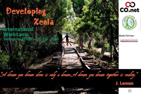 """A Marinella, giovani da tutto il mondo per """"Developing Xenia"""""""