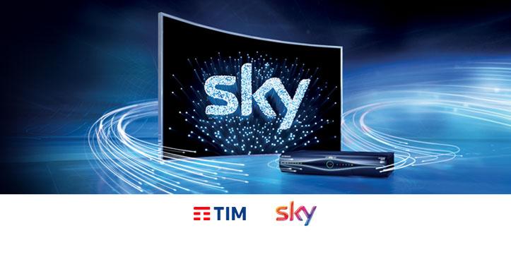 Telecom Italia contro Sky per la tv sulla fibra