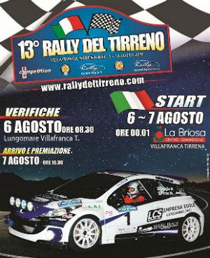 Presentato il Rally del Tirreno con 100 iscritti