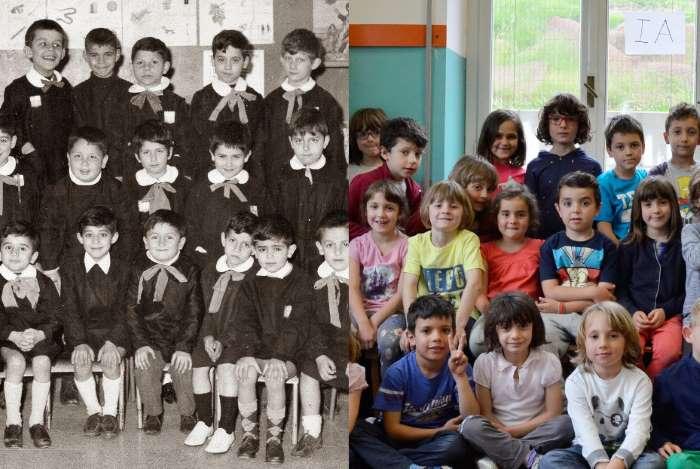 La scuola di ieri e la scuola di oggi a confronto in un'indagine della Doxa