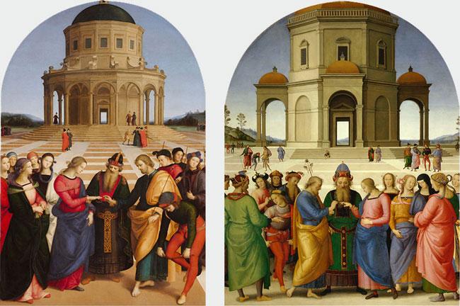 Cose da fare oggi: andare in Pinacoteca per scoprire il Dialogo tra gli Sposalizi