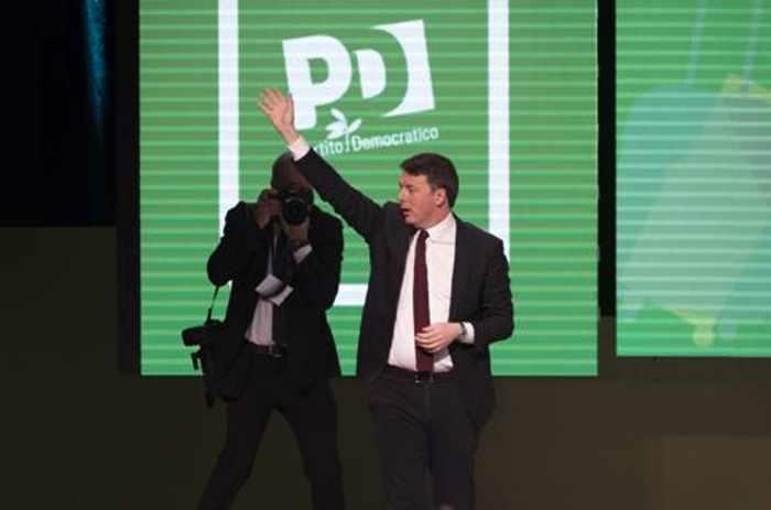 Il solito Matteo Renzi chiude i lavori al Lingotto