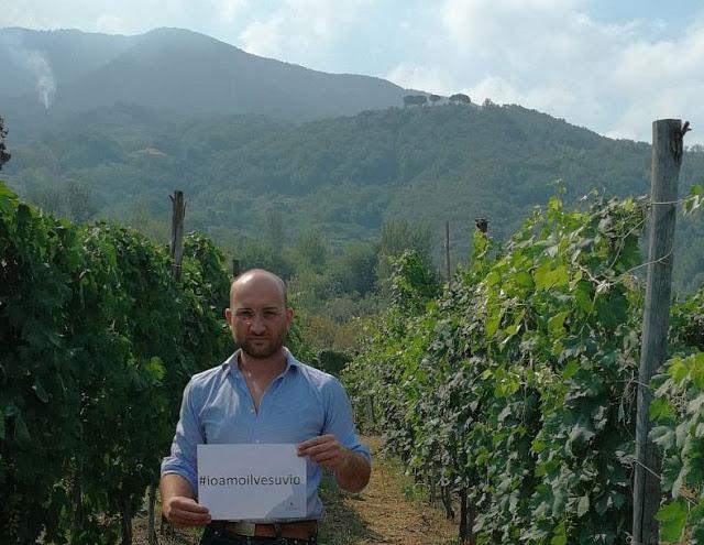 #ioamoilvesuvio: i viticoltori del Vesuvio lanciano una campagna per difendere il territorio