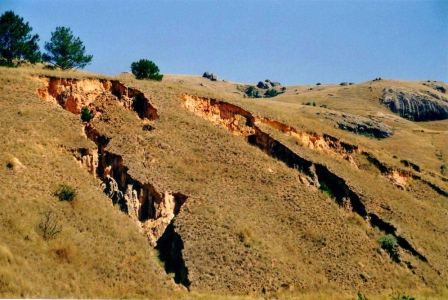 Los problemas de erosión están agravando el creciente problema mundial del abastecimiento de agua