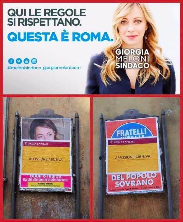 Fratelli d'Italia: le regole valgono, solo per chi non deve farle rispettare.