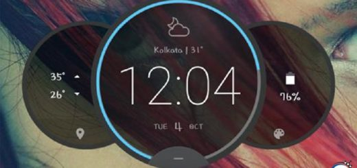 Come installare Moto Z Circle Clock Widget sul tuo Android senza Root