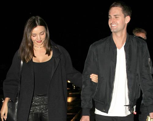 Miranda Kerr ed Evan Spiegel comprano casa insieme