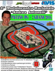 """Paciano: Primo motoincontro nazionale """"Andrea Antonelli"""""""