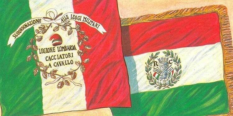 11 ottobre 1796: Il tricolore simbolo della Legione Lombarda