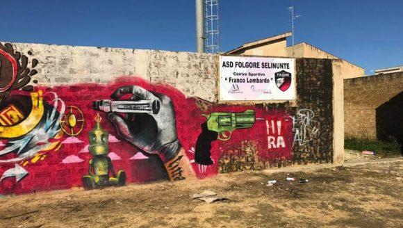 """Artisti a Castelvetrano per la 1a tappa di """"Segni Urbani"""""""
