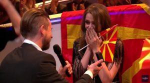 Proposta di matrimonio in diretta per una cantante in gara agli Eurovision 2017 [VIDEO]