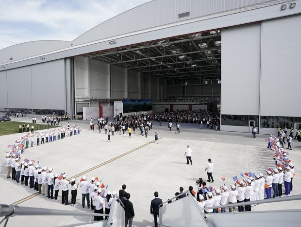 Airbus inaugurates its A330 completion & delivery centre in China | Aviation