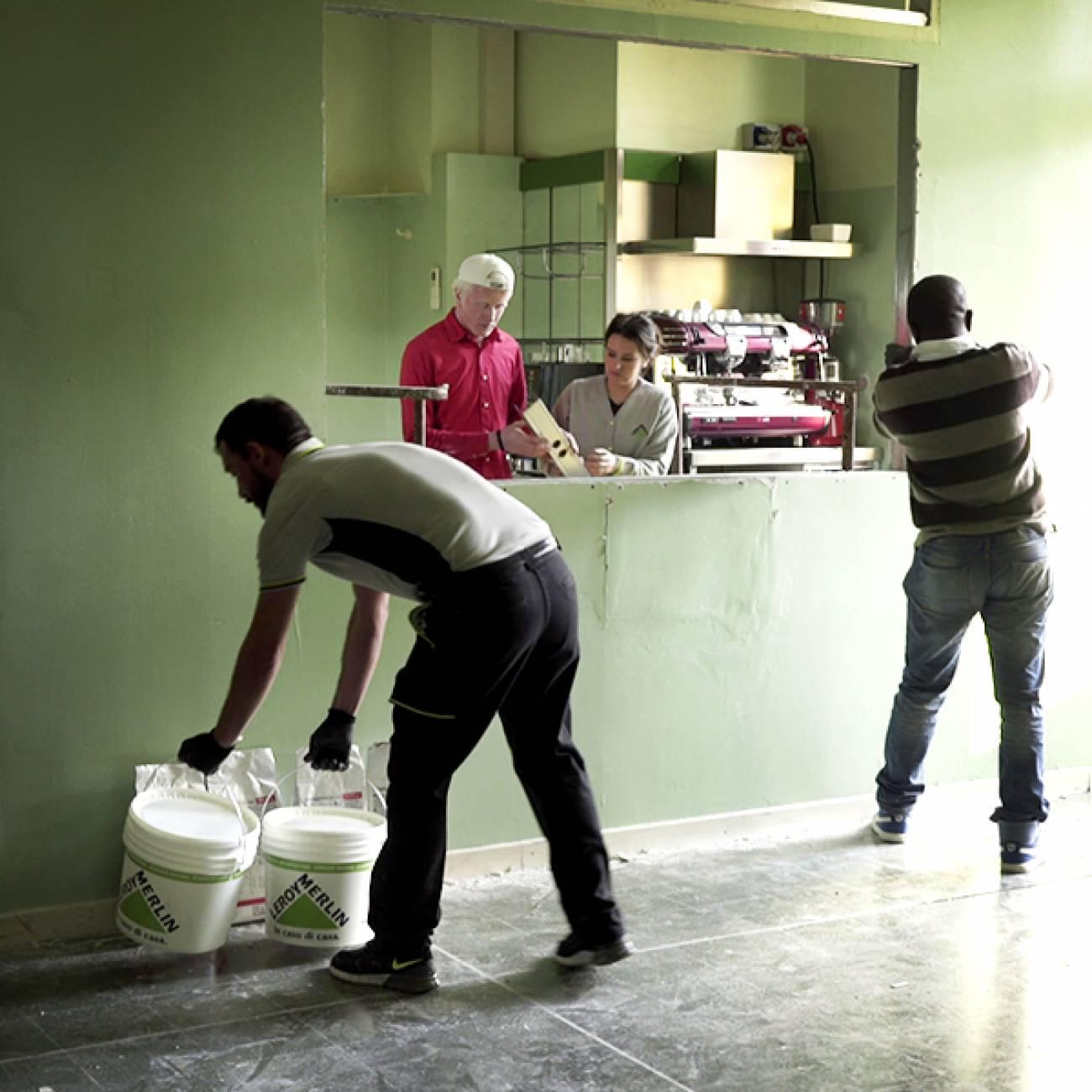 Leroy Merlin regala ore di volontariato ai più bisognosi