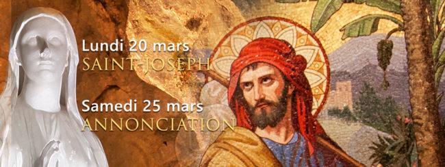 Deux fêtes célébrées au Sanctuaire de Lourdes