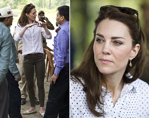 Tutti i look sfoggiati da Kate Middleton in India