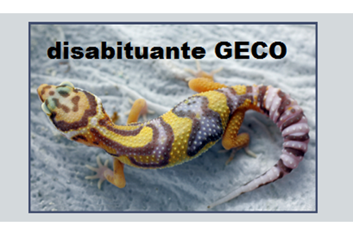 **Disabituante GECO e lucertole**