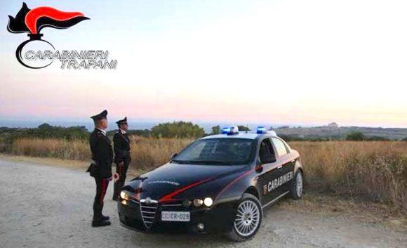 CC Castelvetrano: tre in manette per furto aggravato
