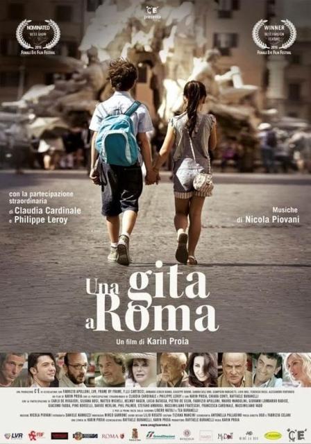 """Imperdibile: è il film """"Una gita a Roma"""" di Karin Proia con Claudia Cardinale e Philippe Leroy. Musiche di Nicola Piovani"""