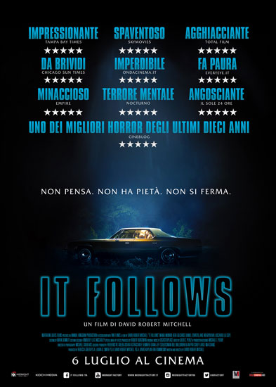 Recensione di IT FOLLOWS, l'horror di David Robert Mitchell